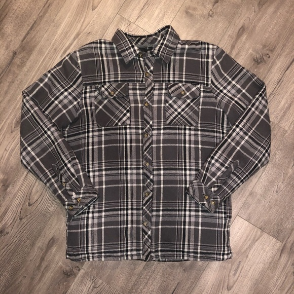 O'Neill Other - 🔴 SOLD 🔴O'Neill Flannel Plaid Sherpa Lined Shirt